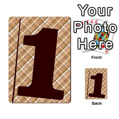 Alpha Cards By Carissa   Multi Purpose Cards (rectangle)   Gtwlzpnfqmce   Www Artscow Com Front 46