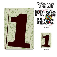 Alpha Cards By Carissa   Multi Purpose Cards (rectangle)   Gtwlzpnfqmce   Www Artscow Com Back 46
