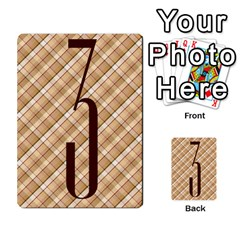 Alpha Cards By Carissa   Multi Purpose Cards (rectangle)   Gtwlzpnfqmce   Www Artscow Com Front 48