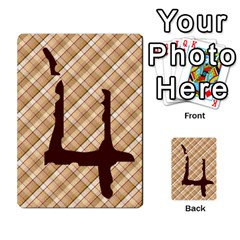Alpha Cards By Carissa   Multi Purpose Cards (rectangle)   Gtwlzpnfqmce   Www Artscow Com Front 49