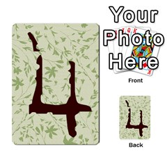 Alpha Cards By Carissa   Multi Purpose Cards (rectangle)   Gtwlzpnfqmce   Www Artscow Com Back 49