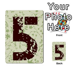 Alpha Cards By Carissa   Multi Purpose Cards (rectangle)   Gtwlzpnfqmce   Www Artscow Com Back 50