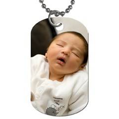 Baby Cj By J   Dog Tag (two Sides)   Gvfxpbalbl4d   Www Artscow Com Front