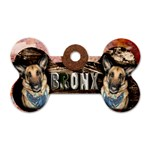 Bronxtag - Dog Tag Bone (Two Sides)