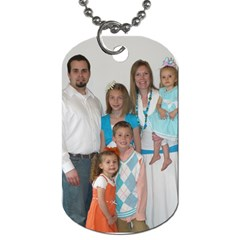 By Melanie   Dog Tag (two Sides)   H3mq0pdybyep   Www Artscow Com Front