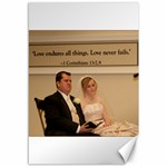 2 canvases - wedding ceremony pics - Canvas 12  x 18