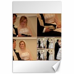 2 Canvases   Wedding Ceremony Pics By Brandon Hauser   Canvas 12  X 18    Smv2bf8gzajb   Www Artscow Com 18 x12 Canvas - 2