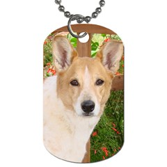 Our Best Friend! By Maria   Dog Tag (two Sides)   J06pga2vspy2   Www Artscow Com Front