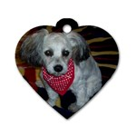 mOCHA - Dog Tag Heart (Two Sides)