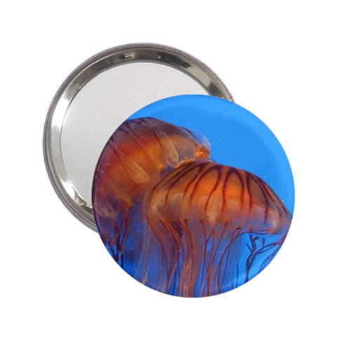 Jellyfish By Diane Richard   2 25  Handbag Mirror   Iv3vmgcmp7rz   Www Artscow Com Front
