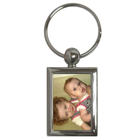 K & J Keychain By Per Westman   Key Chain (rectangle)   N9der42comq1   Www Artscow Com Front
