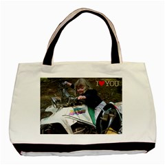 Mortorcycle Babies By Nancy L Miller   Basic Tote Bag (two Sides)   Lz9wwmwplqcw   Www Artscow Com Front