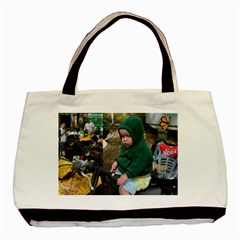 Mortorcycle Babies By Nancy L Miller   Basic Tote Bag (two Sides)   Lz9wwmwplqcw   Www Artscow Com Back