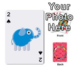 elephant cards - Playing Cards 54 Designs