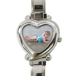 mama watch - Heart Italian Charm Watch