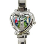 Aunt Dorothy watch - Heart Italian Charm Watch