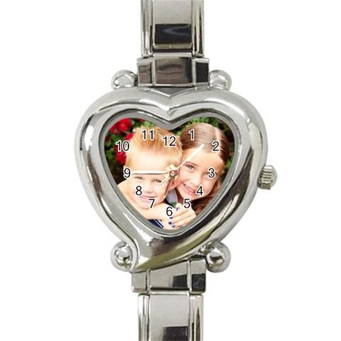 By Teresa Talbot   Heart Italian Charm Watch   811wf0k9ojfe   Www Artscow Com Front