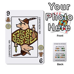 Decktet By Jared Frandson   Playing Cards 54 Designs   Dkoiurgx96ga   Www Artscow Com Front - Heart6