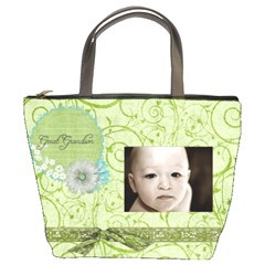 For Grandma By Breanne Scott   Bucket Bag   Afk3v1l6z6jo   Www Artscow Com Front