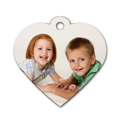 Heart Dog Tag By Brandy   Dog Tag Heart (two Sides)   5xeppsu3wf49   Www Artscow Com Front