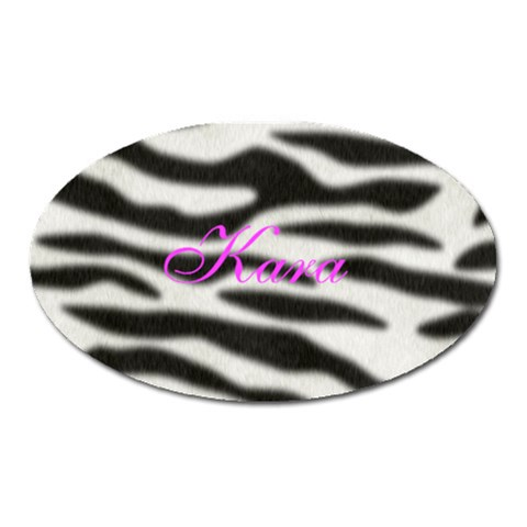 Kara By Kara   Magnet (oval)   Q8gz9m6maghi   Www Artscow Com Front