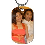 dad and mom - Dog Tag (Two Sides)