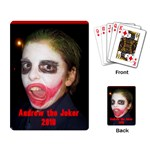andrew the joker playing cards - Playing Cards Single Design