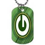 green dog tag - Dog Tag (One Side)