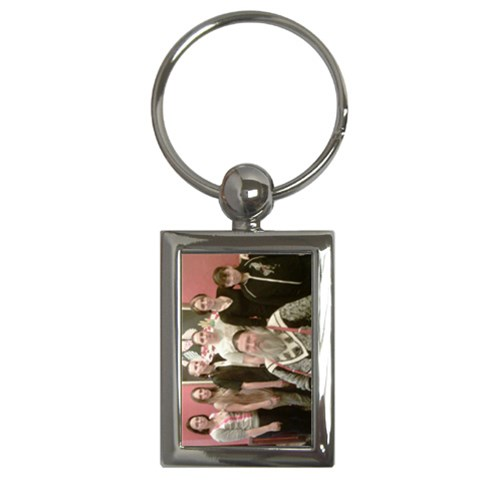 Dad&daughters Keychain By Andrea   Key Chain (rectangle)   S21tu98ybufk   Www Artscow Com Front