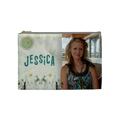 Jessica Cosmetic Bag By Kellie Simpson   Cosmetic Bag (medium)   R7r7uqqo9qen   Www Artscow Com Front
