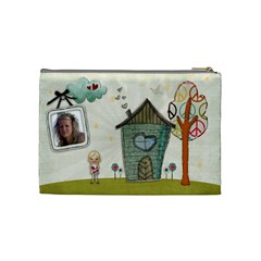 Jessica Cosmetic Bag By Kellie Simpson   Cosmetic Bag (medium)   R7r7uqqo9qen   Www Artscow Com Back