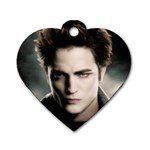 edward - Dog Tag Heart (One Side)