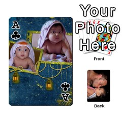Ace Father s Day Cards By Yarann   Playing Cards 54 Designs   5ro6hs1g4ook   Www Artscow Com Front - ClubA