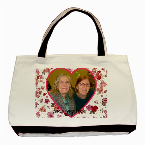 Bag By Vicki Rockett   Basic Tote Bag   8glh3gyv6tdm   Www Artscow Com Front