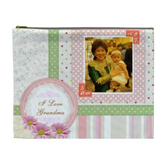 Cosmetic Bag Xl Grandma&int By Yui   Cosmetic Bag (xl)   E81qk24vnos0   Www Artscow Com Front