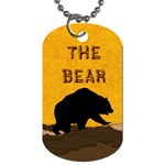 bear - Dog Tag (One Side)