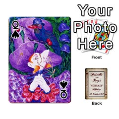 Queen Wonderland Wedding By Rory Cornelius   Playing Cards 54 Designs   Yccc4y4lahjq   Www Artscow Com Front - SpadeQ