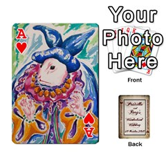 Ace Wonderland Wedding By Rory Cornelius   Playing Cards 54 Designs   Yccc4y4lahjq   Www Artscow Com Front - HeartA