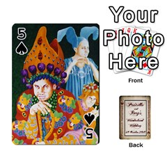 Wonderland Wedding By Rory Cornelius   Playing Cards 54 Designs   Yccc4y4lahjq   Www Artscow Com Front - Spade5