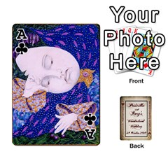 Ace Wonderland Wedding By Rory Cornelius   Playing Cards 54 Designs   Yccc4y4lahjq   Www Artscow Com Front - ClubA