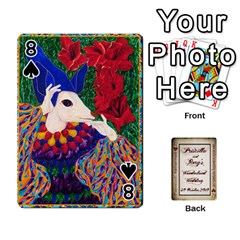 Wonderland Wedding By Rory Cornelius   Playing Cards 54 Designs   Yccc4y4lahjq   Www Artscow Com Front - Spade8