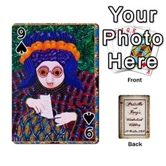 Wonderland Wedding By Rory Cornelius   Playing Cards 54 Designs   Yccc4y4lahjq   Www Artscow Com Front - Spade9