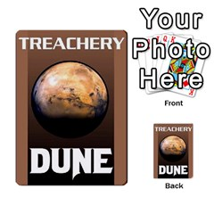 Dune Deck 2 By Luke Martinez   Multi Purpose Cards (rectangle)   F697gko00r38   Www Artscow Com Back 36