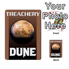 Dune Deck 2 By Luke Martinez   Multi Purpose Cards (rectangle)   F697gko00r38   Www Artscow Com Back 38