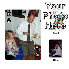 King Ashe Cards By Nancy L Miller   Playing Cards 54 Designs   Gyt2k63ejv1i   Www Artscow Com Front - SpadeK