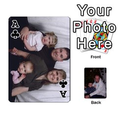 Ace Ashe Cards By Nancy L Miller   Playing Cards 54 Designs   Gyt2k63ejv1i   Www Artscow Com Front - ClubA
