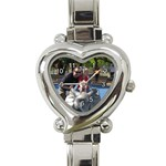 watch - Heart Italian Charm Watch