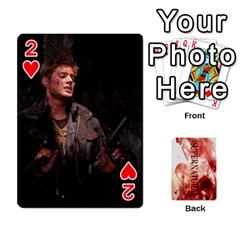 Supernatural Playing Cards By Leigh   Playing Cards 54 Designs   Ucd8gz56z0dn   Www Artscow Com Front - Heart2