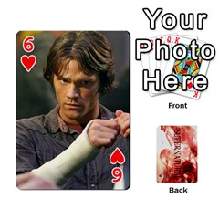 Supernatural Playing Cards By Leigh   Playing Cards 54 Designs   Ucd8gz56z0dn   Www Artscow Com Front - Heart6