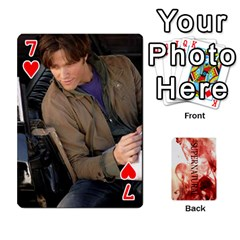 Supernatural Playing Cards By Leigh   Playing Cards 54 Designs   Ucd8gz56z0dn   Www Artscow Com Front - Heart7